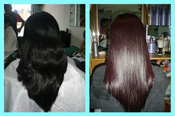 Escova de Chocolate alisa o cabelo