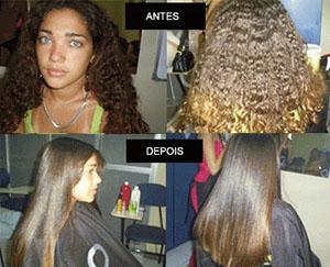 Escova Definitiva cabelo crespo