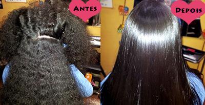 como fazer escova progressiva no cabelo