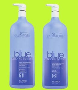Kit do produto Escova Progressiva Blue Cationic