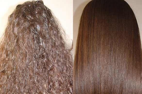 Antes e depois escova progressiva Salvatore Resenha