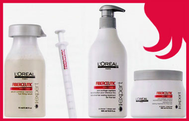 Kit Loreal Fiberceutic Escova de Botox Capilar