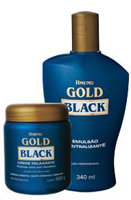 Relaxamento Gold Black da Amend é bom?