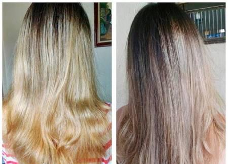 tirar amarelo cabelo com matizador magic color
