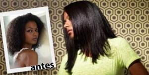alisamento compactado cabelo crespo