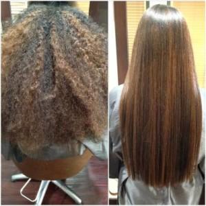 alisamento natural cabelo crespo