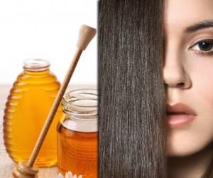 alisamento natural com mel